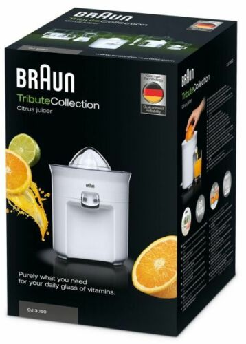 Braun NEW 220 Volt Citrus Juicer CJ3050 220v Voltage Europe Asia