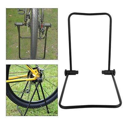 Stationary Trainer Bike Indoor Bicycle Exercise Stand FOLDABLE Training Rack NEW
