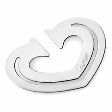 Cartier Stainless Steel Heart Bookmark T1220265