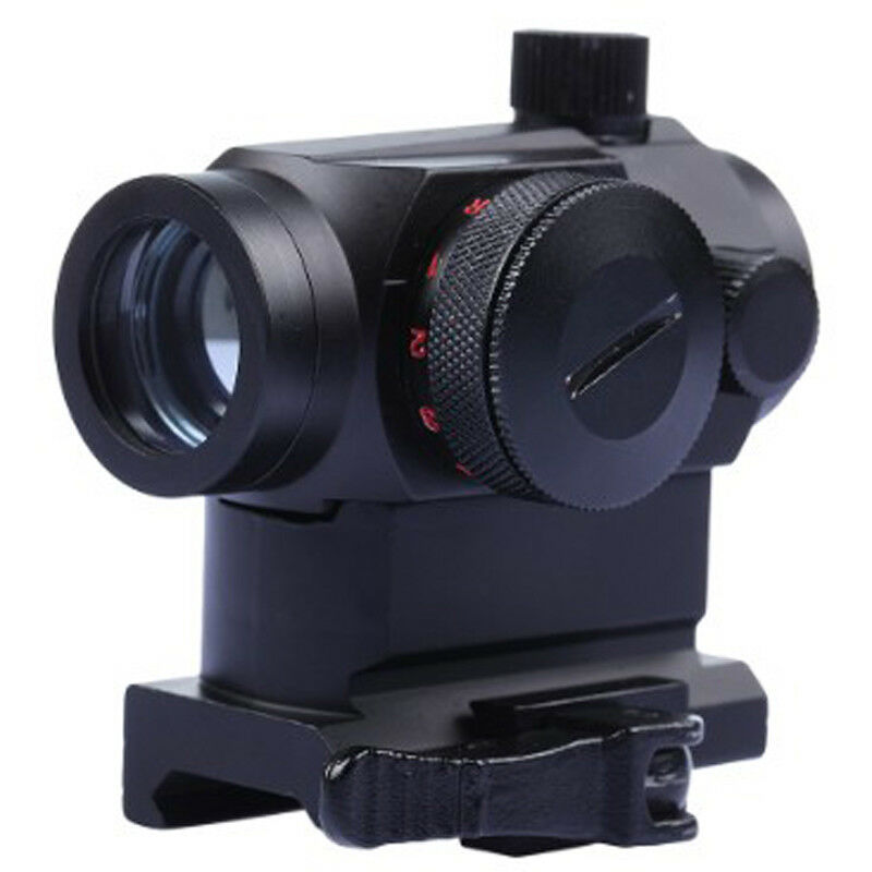 Tactical Electro Green and Red Dot Sight 5 Levels Brightness with Scope Mount