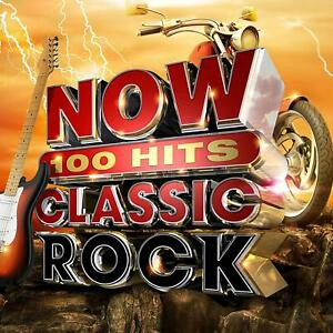 NOW-100-Hits-Classic-Rock-Meatloaf-Rod-Stewart-CD-Sent-Sameday