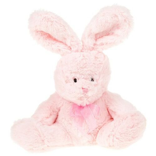 TEDDY BEARS /& BUNNIES by MILLI MOO in PINK OR BLUE,REALLY SOFT /& CUDDLY