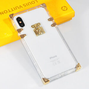 new concept 8a6ba 1771f Details about iPhone X XS Max XR 6 7 8 Crystal Transparent TPU Silicone  Shockproof Case Cover