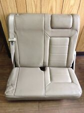 03 04 05 06 Ford Expedition Rear Left Third 3rd Row Seat Leather #12