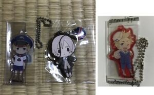 Hetalia-Axis-Powers-NORDIC-5-key-chain-SET-official