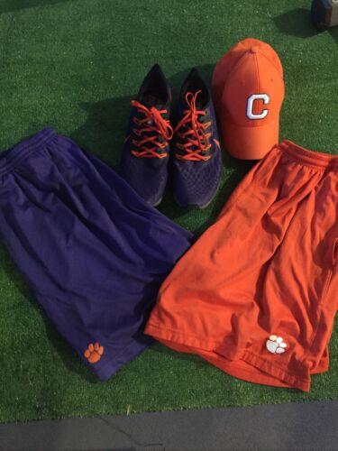 Clemson Nike Pegasus Shoes Hat Shorts XL Coaches L