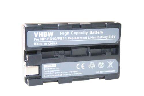 Original VHBW ® batería para Sony np-fs11 fs-11 npfs 11