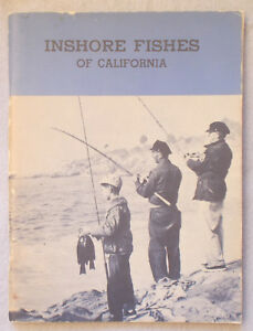 Details about Vintage Guide INSHORE FISHES OF CALIFORNIA John Baxter  FRESHWATER FISHING Fish