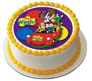 The Wiggles Edible Kids Birthday Party Cake Decoration ...
