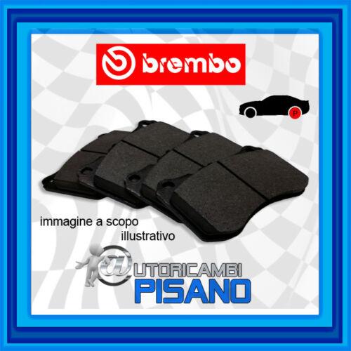 P83114 4 PASTIGLIE FRENO POSTERIORI BREMBO NUOVE /& ORIGINALI