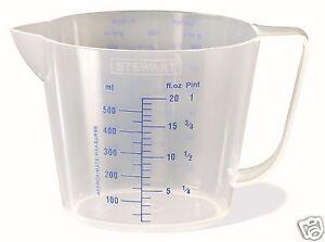 Stewart-Plastic-Measuring-Jug-500ml-1L-2L-2-2L-BPA-Free