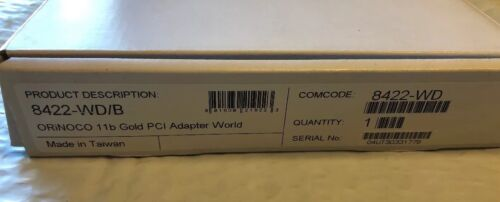 Orinoco PCI Adapter Card PCI-33W 023423//A Agere Systems @F3