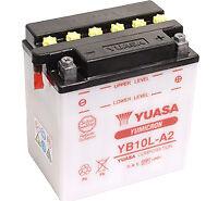 Yuasa YB10L-A2 12V Batterie Suzuki GT TU X Volty 250