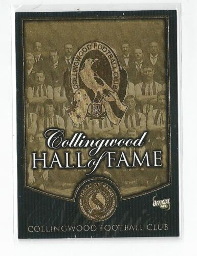 Collingwood Hall of Fame 1 THE INDUCTEES
