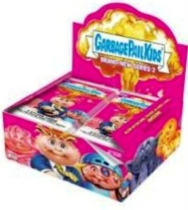 2013-TOPPS-GARBAGE-PAIL-KIDS-BNS-2-SEALED-HOBBY-BOX-24PKS-GOLDS-SKETCH-PLATE-WOW