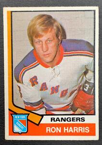1974-75-O-Pee-Chee-Hockey-276-Ron-Harris-New-York-Rangers