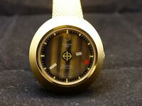Amazing Vintage Zodiac Astrographic SST Automatic 17J, 41x43mm Mens Watch