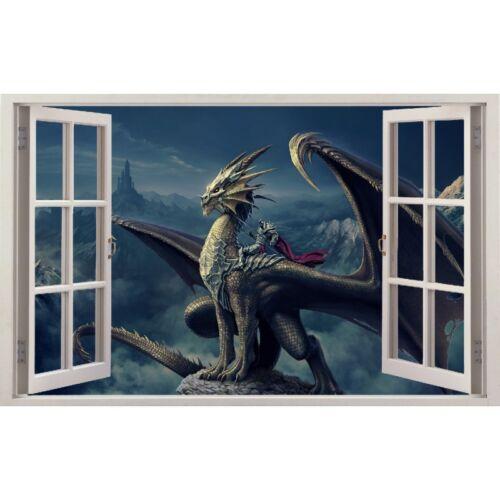 Dragon window stickers ref 11201