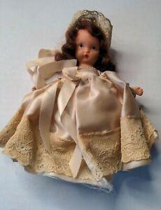 Nancy Ann Storybook Doll Bridesmaid Family Series 87 Original Box brunette