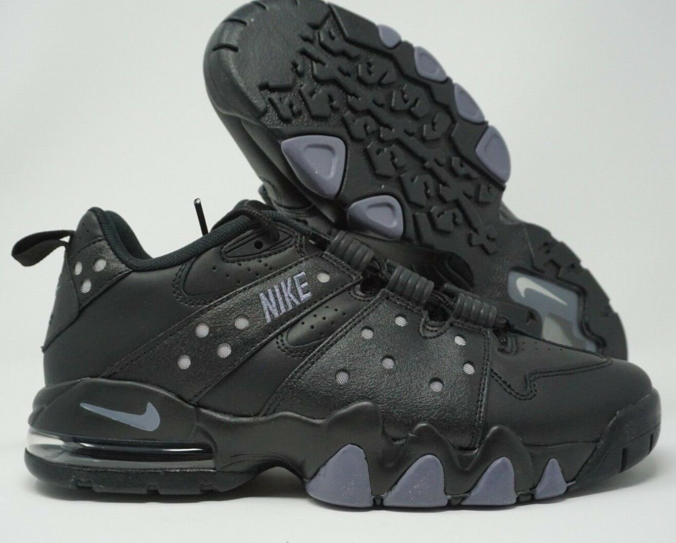 Nike Air Max 2 CB 94 Low Basketball Shoes Black Light Carbon 917752-003 Size 9.5