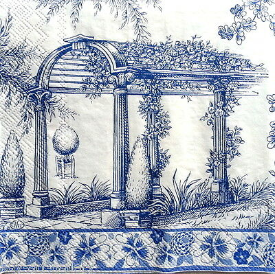 4 x Single Vintage Table PAPER NAPKINS / MAGIC / DECOUPAGE / CRAFT /SCRAPBOOKING