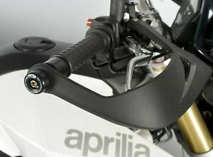 Aprilia-Dorsoduro-1200-2012-R-amp-G-Racing-Bar-End-Sliders-BE0045BK-Black