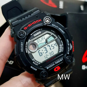 f844c1ecb5645 Casio G-Shock G-Rescue Men s Watch G-7900-1 G7900 Resin Tide Graph ...
