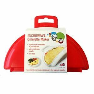good2heat Microwave 2 Egg Omelette Maker Red