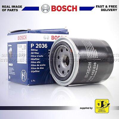 Bosch Filtre à huile P2036 pour DAIHATSU HONDA ISUZU MAZDA MITSUBISHI ROVER SUBARU