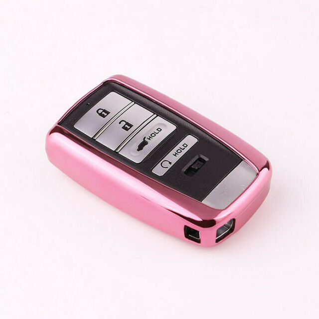 Soft Smart Remote Key Fob Case Cover Shell For Acura CDX