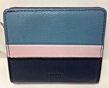Fossil~Emma~RFID Mini Wallet~Misty Jade~Pebbled leather~NWT