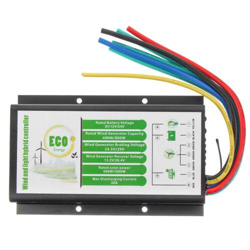 12V//24V 400//500//800//1000W Waterproof Wind Generator Charge Controller Regulator