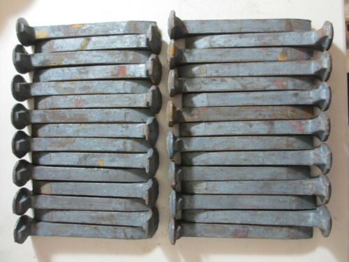 CRAFTS 30 CARBON  STEEL RAILROAD SPIKES -KNIVES ONLY $1.15 EA LOT OF *B*