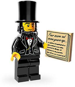 LEGO-MOVIE-ABRAHAM-LINCOLN-MINIFIGURE-NEW