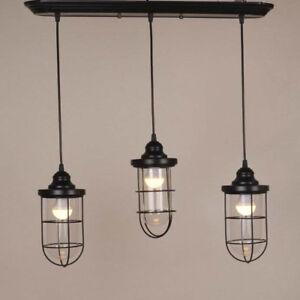 Details About Modern Multi Light Pendant Industrail Ceiling Fixture Kitchen Island Lighting