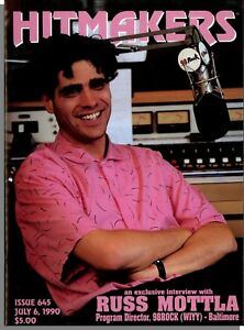 Details about Hitmakers - 1990, July 6 - Music Radio Trade Magazine! Russ  Mottla Interview