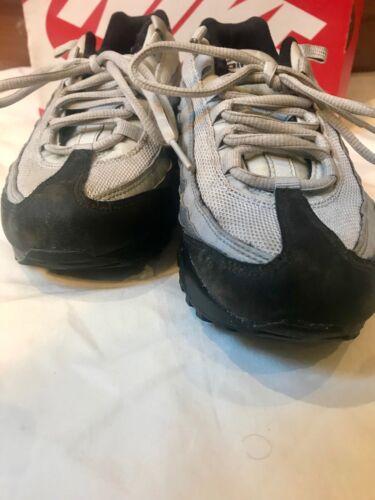 2f7f0127e Size Black Platinum Nike Max Kids 4 Air Trainers Pure grey Boys FqTPnzwTE