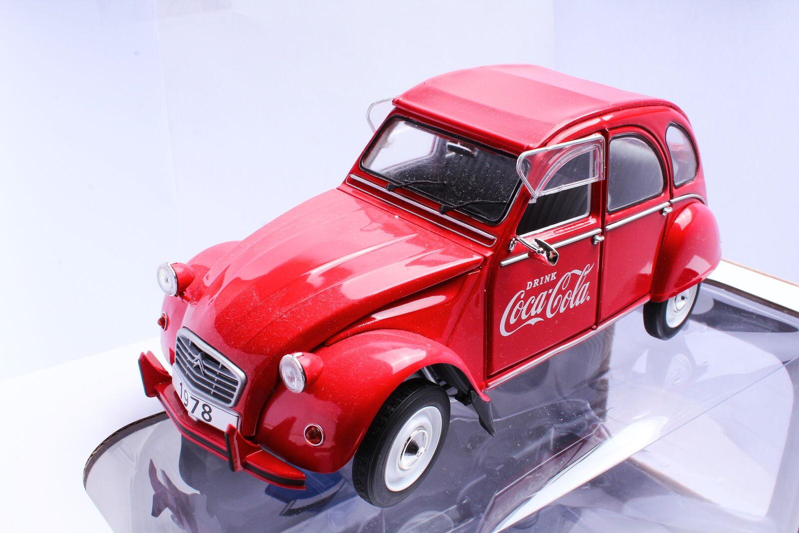 en stock Solido Citroën s1850008 2cv 6 1978 1978 1978 coca cola 1 18 OVP  hasta un 60% de descuento