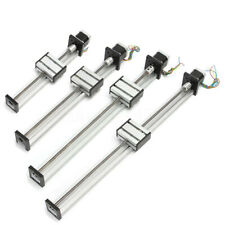 Cnc Linear Actuator Stage Lead Screw Slide Rail Guide With 42 Stepper Motor