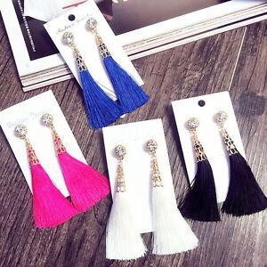 Fashion-Rhinestone-Long-Tassel-Dangle-Earrings-for-Women-Thread-Fringe-Drop