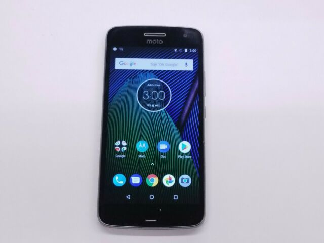 Motorola Moto G5 Plus (XT1687) 32GB Gray (Unlocked) Smartphone Clean IMEI 45569