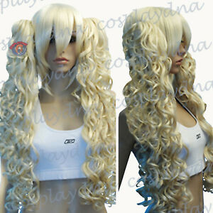 24-034-Heat-Resistant-Light-Golden-Blonde-Cosplay-Wig-with-Curly-Clip-On-Ponytails