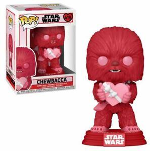 MINT Star Wars Valentines Chewbacca with Heart Funko Pop! Vinyl Figure #419