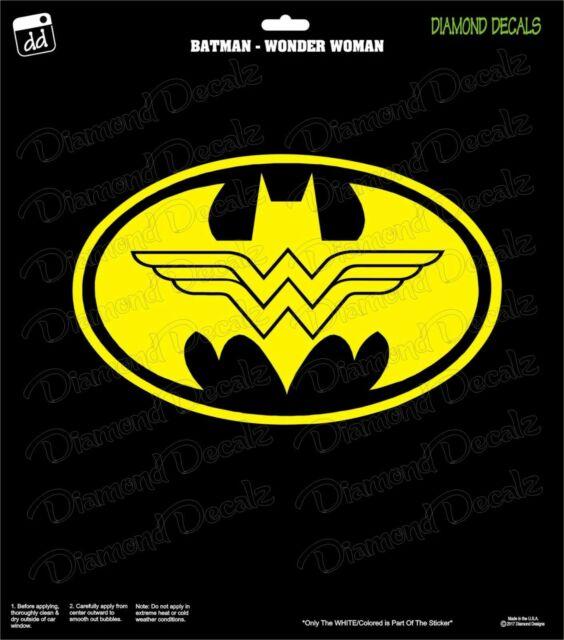 Vinyl Decal Truck Car Sticker Laptop Window  DC Justice League Wonder Woman Logo