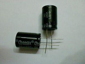 10pcs 68uf 400v 68mfd 400volt aluminum electrolytic capacitor 16mm×25mm radial