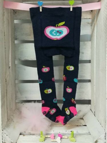 Baby Girl Cotton Tights Pants Anti Slip ABS Sole Rubberised