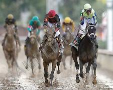 ALWAYS DREAMING 2017 KENTUCKY DERBY WINNER JOHN VELAZQUEZ HORSE 8X10 PHOTO #2