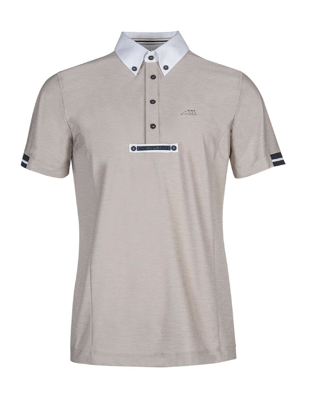 Camiseta de torneo equiline - camisa polo Vick strech transpirable ajuste cómodo