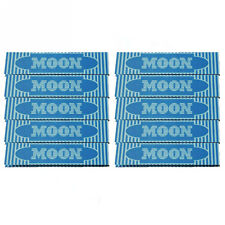 10×32 sheets 108mm King Size Slim Moon Blue Cigarette Tobacco Rolling Papers