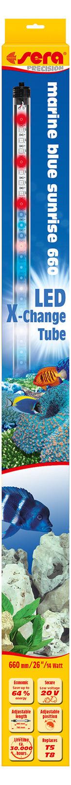 Sieri Sieri Sieri LED X-Change Tube Marine blu Sunrise, 8,6-25 W, Single Pack & 2er sparpack 49dae8